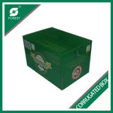 Carton ondulé empaquetant 24 boîtes à bière de bouteilles