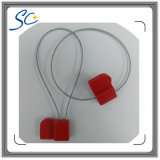 Etiqueta imprimible RFID del sello del cable de alambre del profesional 840~960MHz