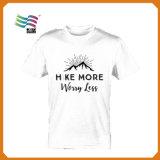 Prix usine 120g Polyester Campaign T Shirt pour 2017 Kenya