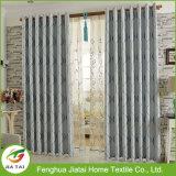 Cortinas de ventana rayadas del poliester de la cortina de ventana de las cortinas en línea