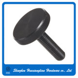 Black Zinc Plated Flat Round Big Large Head Thumb Screws