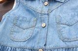 أطفال يلبّي فصل صيف حالة جديات بنات دنيم ثوب لعبة البولو عنق