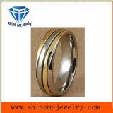 Shineme 보석 티타늄 새기는 금 반지 (TR1818)