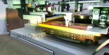 서류상 유리 판매를 위한 기계를 인쇄하는 오프셋 편평한 침대 회전하는 실크 스크린