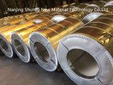 Bobina de acero cubierta cinc galvanizada