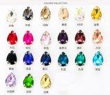 2088 naait de Steen van het Glas van de Kop van het Messing van Hongkong van het Kristal op het Kristal van de Klauw (sW-Daling 13*18/10*14)