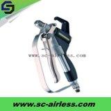 Quatre pistolet de pulvérisation privé d'air de peinture des doigts Sc-Gw248 pour le pulvérisateur privé d'air de peinture