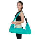Stuoia antiscorrimento di yoga della pelle scamosciata della gomma naturale della stuoia ecologica di yoga
