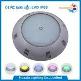 Lampe de piscine sous-marine à LED à résine remplie