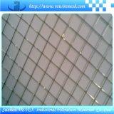 Сваренная ячеистая сеть с использовано в украшении