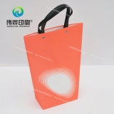 Bunter Papierdrucken-Geschenk-Beutel gebildet vom Spezialpapier