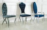 Tissu d'acier inoxydable de meubles d'hôtel dinant la présidence (B808#)