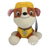 Customed a bourré le jouet mou de peluche de vente en gros de doigt de marionnette de main de singe