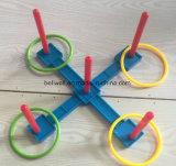 Пластичная игра кольца Toss установленная для малышей