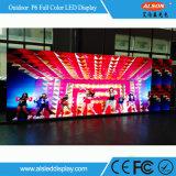 HD P6 farbenreiche im Freienmiete LED-Bildschirmanzeige für Erscheinen