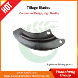 Agricultural Machinery Spare Parts Double Holes Rotary Blade