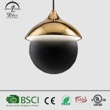 Nouveau Design Iron Ball Éclairage LED Lampe suspension moderne Lustre en cristal pour les ventes