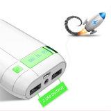 accessoires portatifs de téléphone mobile de côté de pouvoir de la mode 5200mAh