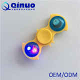 Hilandero de la persona agitada de la mano del LED que brilla intensamente de la tensión anti ligera del juguete