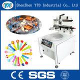 Semi-Auto máquina de impressão Desktop da tela de seda de base lisa