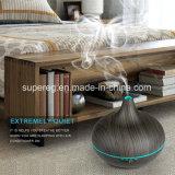 精油の拡散器の木製のGrianの黒い芳香の拡散器