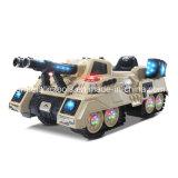 발사 공을%s 가진 탱크가 장난감 차 탱크에 탐에 의하여 농담을 한다