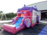 Princesa inflable Castle, gorila inflable de los carácteres de Pricess, Caslte animoso inflable para los cabritos