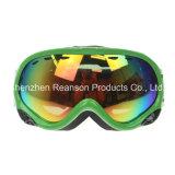ガラスAnti-Fog雪のゴーグル上のReansonの二重レンズ