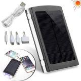 Côté solaire portatif de vente chaud de pouvoir de chargeur de téléphone cellulaire de 10000mAh RoHS