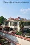 Строительные материалы, испанский случай проекта плитки крыши, керамический толь сделанный в Китае