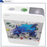 Jet-106b accesorios de baño de plástico de impresión de agua de tocador