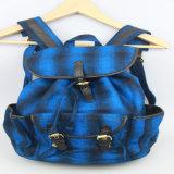 Frauen-Segeltuch-Rucksack, Baumwollrucksack, beiläufiger Rucksack-Form-zusätzlicher Lieferant