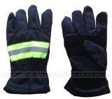 Пламя - retardant перчатки пожара хлопка