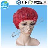 China-Fabrik-Klipp-Schutzkappe, Pöbel-Schutzkappe, Mopp-Schutzkappe, Wegwerfschutzkappe, Doktor Cap, chirurgische Schutzkappe,