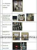 A imprensa mecânica 60ton do C com Ompi italiano seca a embreagem, pressiona a máquina com rolamentos de Japão NSK, morre a imprensa do selo, alimentador da bobina