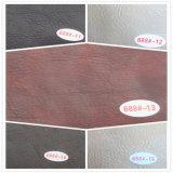 Cuoio di cuoio resistente al fuoco del PVC del coperchio di sede dell'automobile (HS-M063)