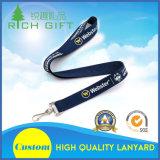 Lanières de la meilleure qualité de poche estampées par sublimation de teinture avec le point d'interruption de sûreté