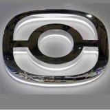 L'automobile simbolizza il marchio dell'automobile o il marchio dell'automobile di Frontlit 3D
