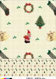 Mantel impreso plástico de la Navidad del mantel del PVC de Viyle popular en día de la Navidad