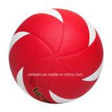 Dimensiones estándar oficial de la bola del voleo de piel