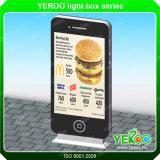 広告するライトボックスの極度の市場をスクロールする通りのスクローリング印LED