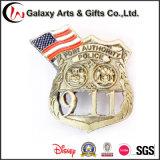 Het Kenteken van de Herinnering van het Gouden Plateren van de Stad van New York voor voor Embleem 911