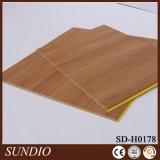 El más reciente diseño de tablero de madera plástica más popular de la pared de la composición para el dormitorio de los niños