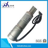 Motor linear del cepillo de la C.C. del actuador linear del Ce 12V/24V con el regulador y la potencia de la mano