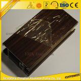 Peças de alumínio da porta de madeira excelente para a mobília de alumínio Decotation