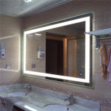 Miroir de salle de bain allumé en miroir décoratif mural