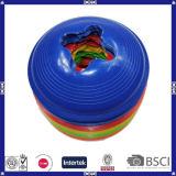 Fornecedor colorido plástico dos cones do disco do treinamento do futebol da boa qualidade