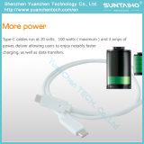タブレットまたは携帯電話のための速い充満USB3.1データ同期信号タイプCケーブル