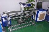 Laser die van de Vezel van de hoge snelheid de Vliegende de Prijs van de Machine 20W merkt