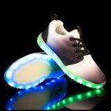 新しいカラーデザイン偶然の点滅の靴のスポーツの人の靴熱い販売法